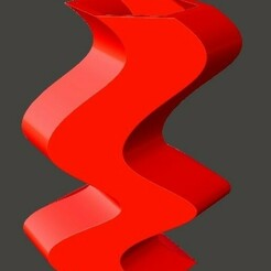 Waveflower_single.jpg Télécharger fichier STL Vase imprimable WaveFlower 3D • Plan imprimable en 3D, Nyrmata