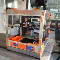 DJI_20201213_101307_36.jpg Download free STL file Prusa-box enclosure for Prusa mk3s mk2.5s • 3D print design, Printer-box