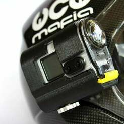AS100-1.jpg Download free STL file Sony ActionCAM Helment Mount • Model to 3D print, exo2