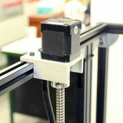 nema-17-z-axis-motor-mount-3d-distributed-3ddistributed.jpg Télécharger fichier STL gratuit Support de moteur de l'axe Nema 17 Z • Objet à imprimer en 3D, 3ddistributed