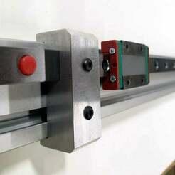20mm_x_40mm_Linear_Rail_Stop.jpg Télécharger fichier STL gratuit Outil d'alignement de montage de butée de rail linéaire MGN12 20mm x 40mm • Objet pour imprimante 3D, 3ddistributed