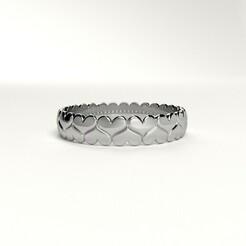 heart-ring-1.jpg Download STL file Valentine's day heart ring 3D model • 3D printable object, Oleg_K