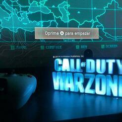 foto wz 2.jpg Download STL file CALL OF DUTY WARZONE LAMP • 3D print object, Saul3DTech