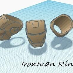 Ironman Ring.jpg Download STL file Ironman ring • 3D printable design, juancarlosheras