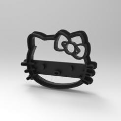 untitled.383.png Télécharger fichier STL L'emporte-pièce Hello Kitty • Modèle pour imprimante 3D, Bastianpulgars