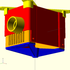 picx.png Download free SCAD file Pi & Camera Enclosure • 3D printable design, ljbrumfield