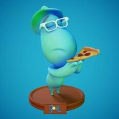 1.jpg Télécharger fichier STL Joe Gardner - Modèle d'impression 3D de Soul Disney Pixar - Modèle d'impression 3D Modèle d'impression 3D • Objet pour impression 3D, pedramehosseini