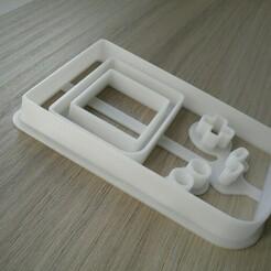 DSCN0072.JPG Télécharger fichier STL Modèle 3D de GameBoy Cookie Cutter Small Game Boy • Objet imprimable en 3D, mistrzu