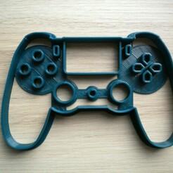 DSCN0164.JPG Télécharger fichier STL Coupe-biscuits inspiré de la manette de la PlayStation 4 PS4 • Objet pour imprimante 3D, mistrzu