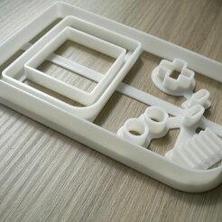 DSCN0070.JPG Télécharger fichier STL Inspiré par le Game Boy Cookie Cutter Gameboy de Nintendo • Design imprimable en 3D, mistrzu