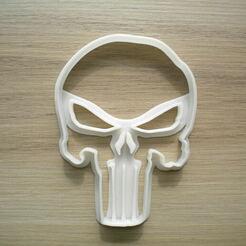 DSCN0114.JPG Télécharger fichier STL Le crâne de Punisher : un coupe-croûte inspiré de Punisher • Objet imprimable en 3D, mistrzu