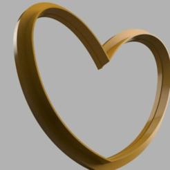 Heart_render1.png Télécharger fichier STL gratuit Coupe-cœur • Plan à imprimer en 3D, matschi