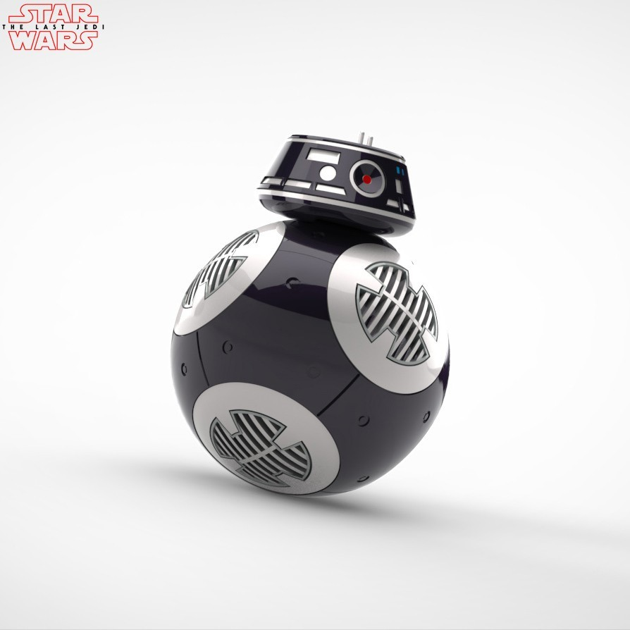 BB9_render_2.jpg Download free STL file BB9E DROID - STAR WARS: THE LAST JEDI • 3D printable model, Maxter