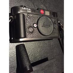 Free stl Leica Hand Grip M Camera, DjeKlein