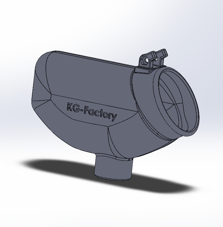 Print 04 with support.PNG Download STL file 50 rounds Winchester Hopper • 3D printable object, DjeKlein