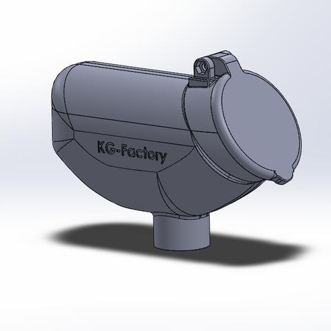 Capture01.PNG Download STL file 50 rounds Winchester Hopper • 3D printable object, DjeKlein
