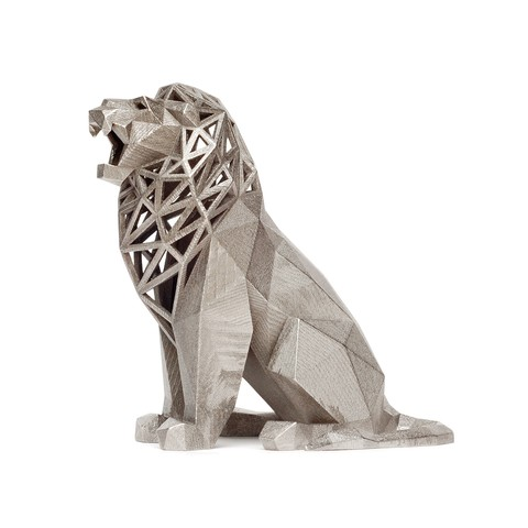 lion 1.jpg Download STL file Low Poly Animal Collection • 3D printing template, FORMBYTE