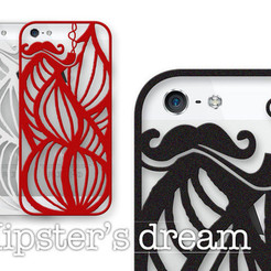 Impresiones 3D iPhone 5 - Hipster's dream, Salokannel