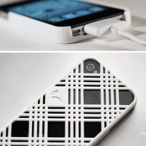Modelos 3D para imprimir iPhone 4 - Stripes, Salokannel