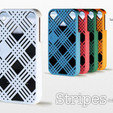 3d print files iPhone 4 - Stripes, Salokannel