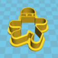 Download STL file Thief - Gingerbread cutter • Template to 3D print, Salokannel
