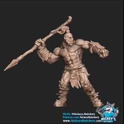 Download 3D print files Orc #5, NickeysHatchery