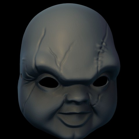 3D printer files Chucky Mask - Child's Play, NickeysHatchery