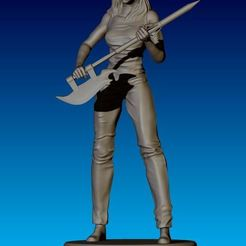 Download 3D printer designs Buffy Figurine, NickeysHatchery