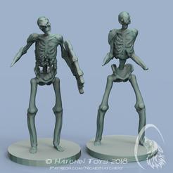 STL files Skeletons, NickeysHatchery