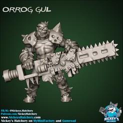 Orrog_Gul.jpg Download STL file Orc Elite Unit (Star Player) • 3D printing design, NickeysHatchery