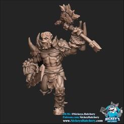 Download 3D printer model Orc #1, NickeysHatchery
