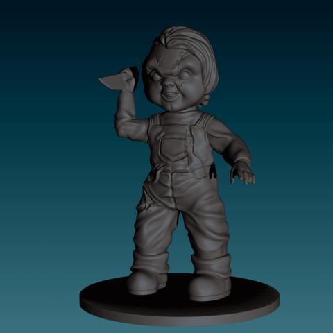 Descargar modelos 3D para imprimir Figurilla Chucky, juego de niños, NickeysHatchery