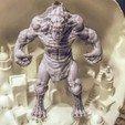 Modelos 3D para imprimir Hombre-lobo, NickeysHatchery