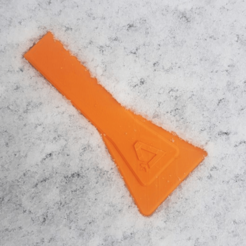 Download free 3D printer designs Dagoma window scraper, dagomafr