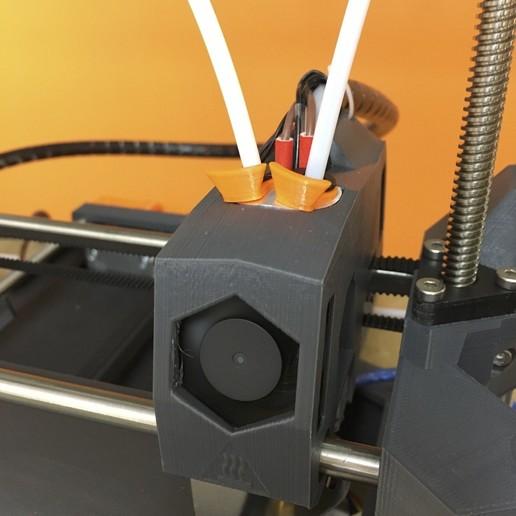 Télécharger fichier impression 3D gratuit PTFE locker - Maintien pour le tube PTFE, dagomafr