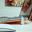 Free 3D printer file MacBook Pro support, dagomafr