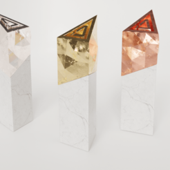 dago-award3.png Download free STL file Dago'trophies - DAGOMA Trophies • 3D printable design, dagomafr