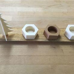 Télécharger modèle 3D gratuit bougie de Noël, dagomafr