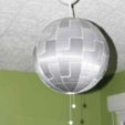 Download free 3D printing designs Death Star for Ikea lamp, dagomafr