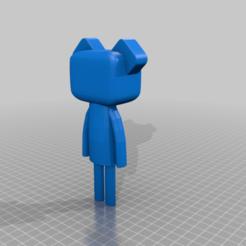 nounours_Lisa_SCHOTTE.png Télécharger fichier STL gratuit IMAGINATION - ourson • Modèle à imprimer en 3D, dagomafr