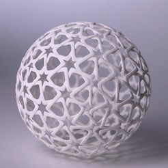 Free 3D file Islamic Christmas Ball, bza