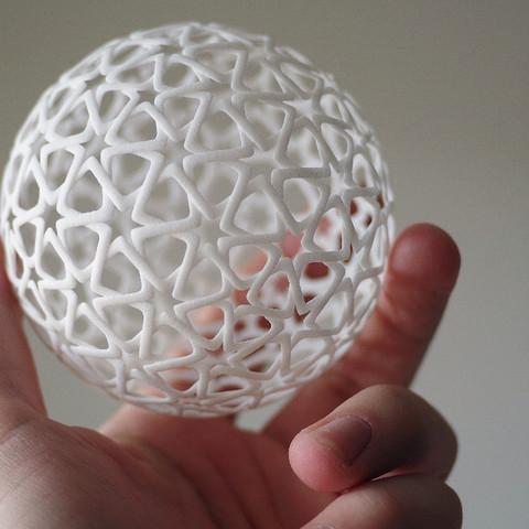 jpeg-2.jpg Télécharger fichier STL gratuit Islamic Christmas Ball • Plan à imprimer en 3D, bza