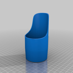 coffee_mill_thingy.png Download free 3MF file Zassenhaus Quito Coffee Grinder Tank • 3D printer object, bza