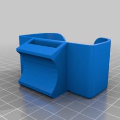 Download free 3D printing files Led Lenser Mh8 Headlight → Bicycle Light Mount Adaptor, bza