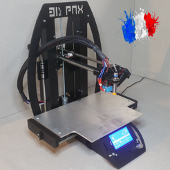 Free STL 3D Printer The Lutin 3D PNX, 3DPNX