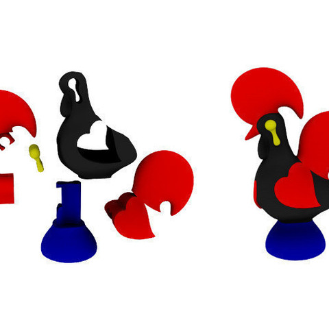 Chrome_Legacy_Window_09102014_124523.bmp.jpg Download free STL file Portuguese Rooster • 3D printing object, BEEVERYCREATIVE
