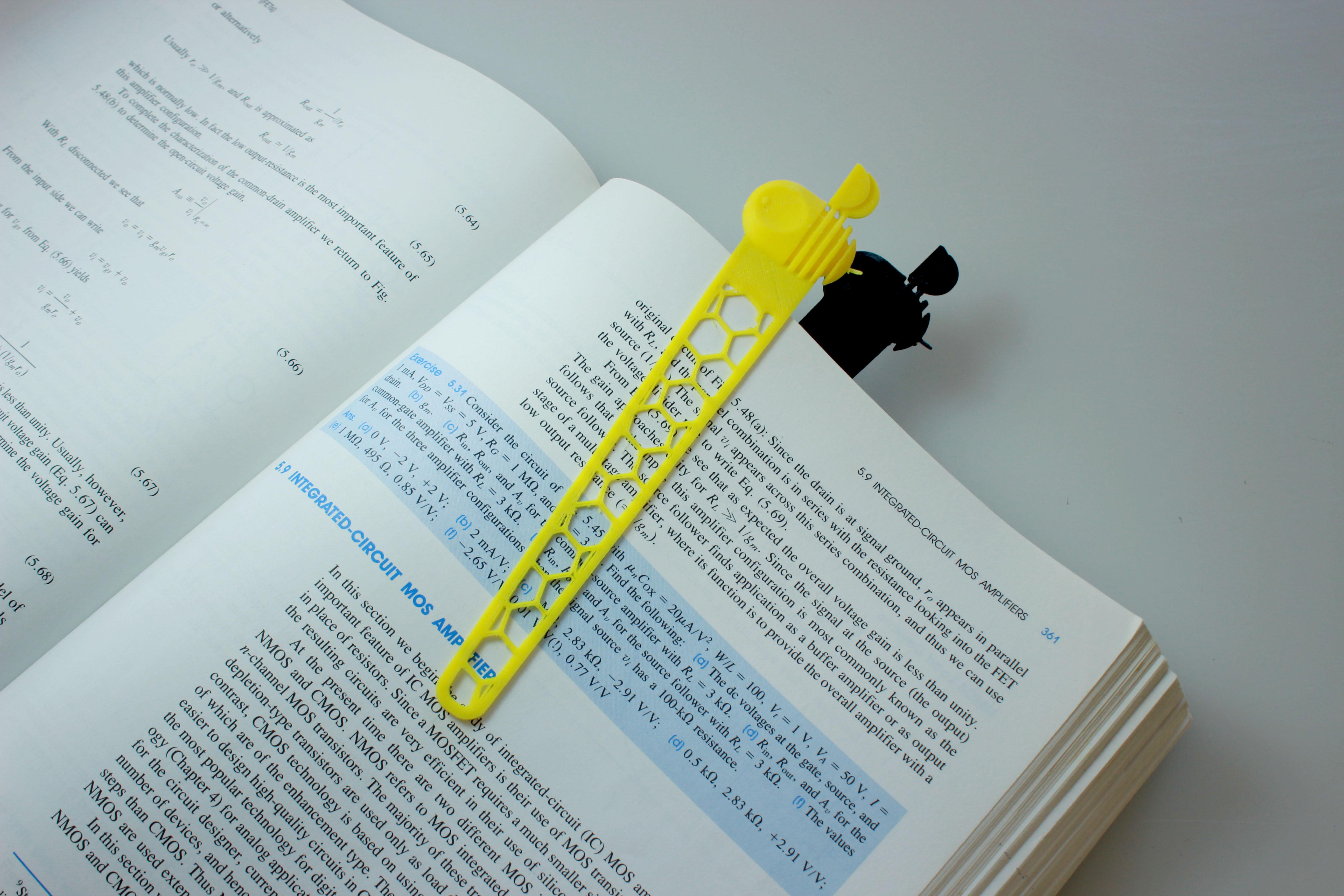 bkmrk-02.jpg Download free STL file Bookmark • 3D printing model, BEEVERYCREATIVE