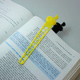 Free 3d print files Bookmark, BEEVERYCREATIVE