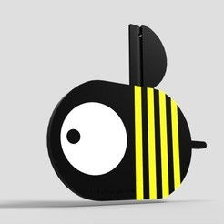 Free BEE gift 3D printer file, BEEVERYCREATIVE