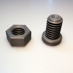 Free 3D printer files Screw, BEEVERYCREATIVE